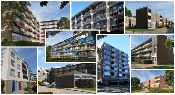 Collage flats